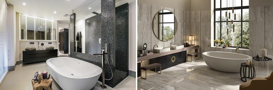 Duża łazienka - jak ją umiejętnie urządzić