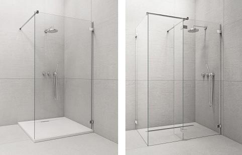 Kabina prysznicowa - z brodzikiem czy bez