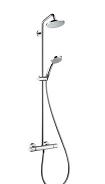 Hansgrohe zestaw prysznicowy Croma160 z termostatem 27135000 Image